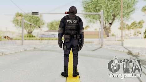 Dead Rising 2 Chucky Swat Outfit für GTA San Andreas dritten Screenshot