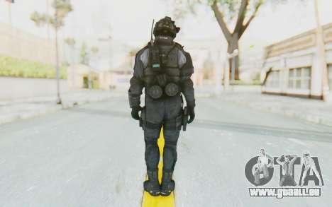CoD BO2 LAPD v1 pour GTA San Andreas troisième écran