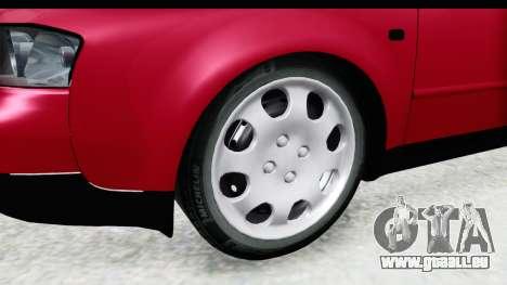 Audi A6 C5 Avant Sommerzeit für GTA San Andreas Rückansicht