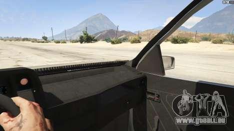 Chevrolet Kadett SL 2.0 Lowered pour GTA 5