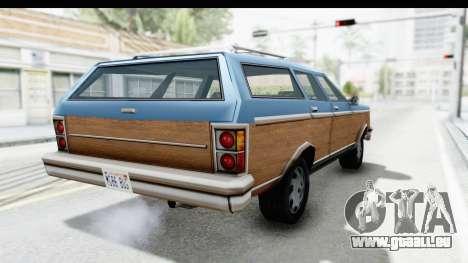 Pontiac Bonneville Safari from Bully pour GTA San Andreas laissé vue