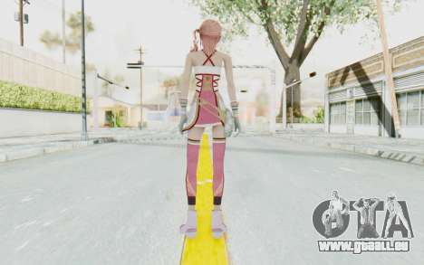 FinalFantasy XIII-2 - Serah für GTA San Andreas dritten Screenshot