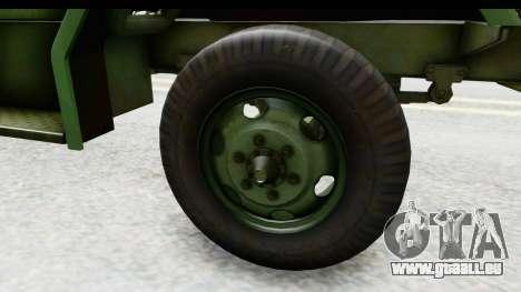 AM General M35A2 für GTA San Andreas Rückansicht