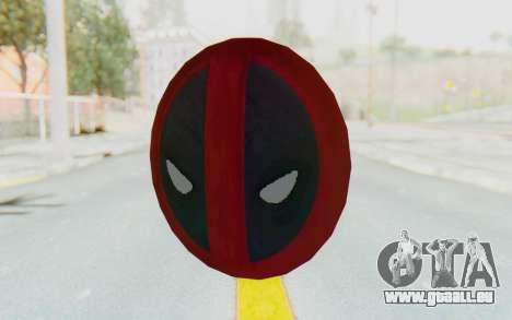 Deadpool Shield v2 für GTA San Andreas
