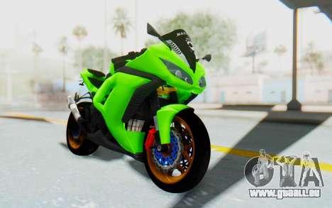 Kawasaki Ninja 250 Abs Streetrace pour GTA San Andreas