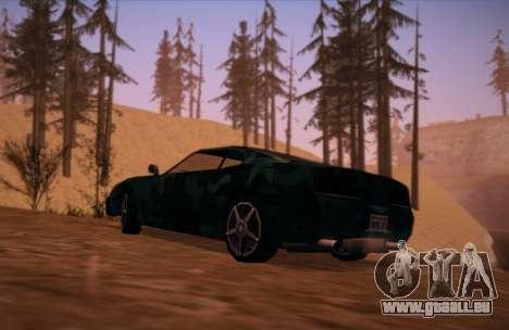 Camo. pour GTA San Andreas laissé vue