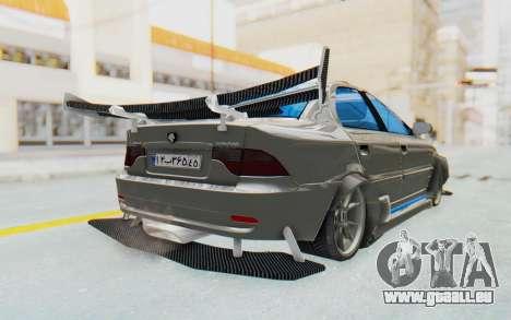 Ikco Soren Full Sport pour GTA San Andreas sur la vue arrière gauche