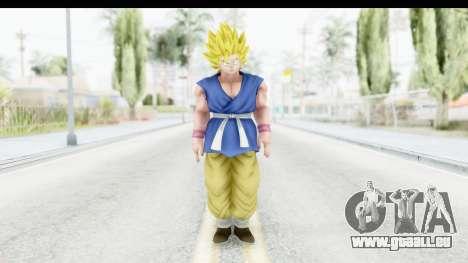 Dragon Ball Xenoverse Goku GT Adult SSJ2 pour GTA San Andreas deuxième écran