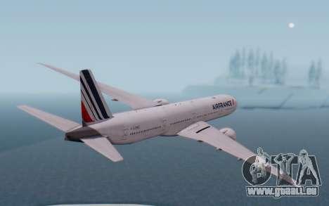 Boeing 777-300ER France Air für GTA San Andreas rechten Ansicht