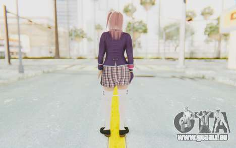 Dead Or Alive 5 Last Round - Honoka für GTA San Andreas dritten Screenshot