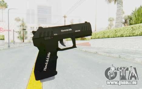 GTA 5 Hawk & Little Combat Pistol pour GTA San Andreas troisième écran