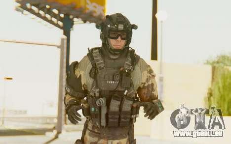 Federation Elite Assault Woodland-Flora pour GTA San Andreas