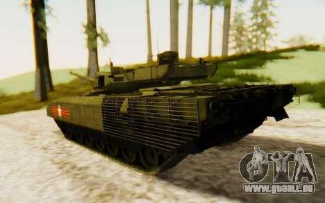 T-14 Armata für GTA San Andreas linke Ansicht