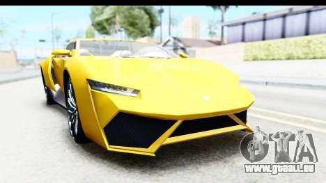 GTA 5 Pegassi Reaper v2 IVF pour GTA San Andreas vue arrière