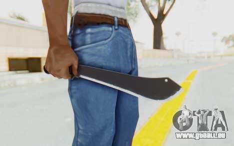 GTA 5 Vom Feuer Machete pour GTA San Andreas