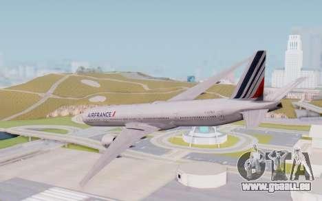 Boeing 777-300ER France Air für GTA San Andreas linke Ansicht