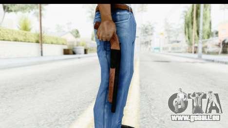 GTA 5 Double Barrel Sawn-Off pour GTA San Andreas troisième écran