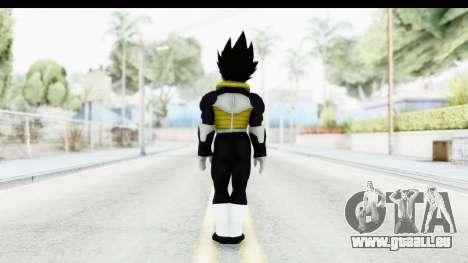 Dragon Ball Xenoverse Vegeta Timebreaker für GTA San Andreas dritten Screenshot
