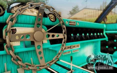 GTA 5 Declasse Voodoo Alternative v2 PJ für GTA San Andreas Seitenansicht