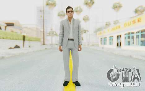 Mafia 2 - Vito Scaletta Madman Suit White für GTA San Andreas zweiten Screenshot