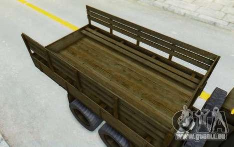 Praga V3S pour GTA San Andreas vue arrière