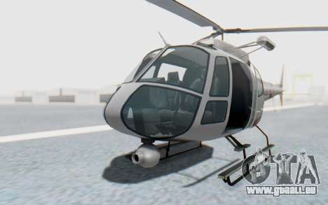 GTA 5 News Chopper Style Weazel News pour GTA San Andreas