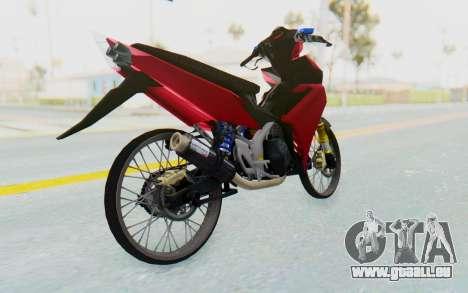 Yamaha Jupiter MX 135 Lock Style pour GTA San Andreas vue de droite