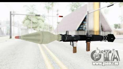 GTA 5 Shrewsbury Rocketlauncher für GTA San Andreas