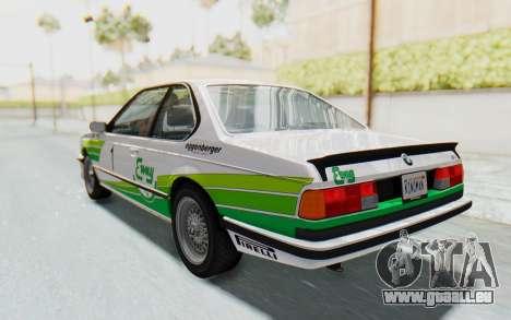 BMW M635 CSi (E24) 1984 HQLM PJ2 pour GTA San Andreas roue