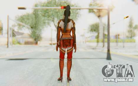 Dynasty Warriors 7 - Lian Shi v1 für GTA San Andreas dritten Screenshot