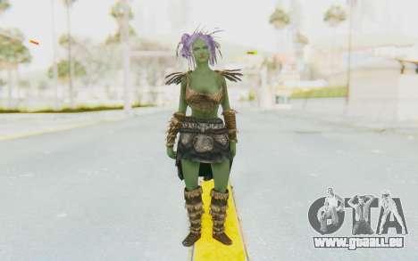 Skyrim - Khorah Orc v1 pour GTA San Andreas deuxième écran