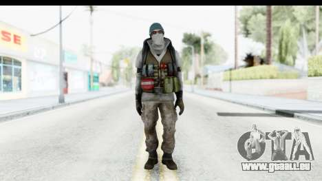 The Division Last Man Battalion - Medic für GTA San Andreas zweiten Screenshot