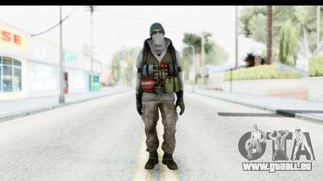 The Division Last Man Battalion - Medic pour GTA San Andreas deuxième écran