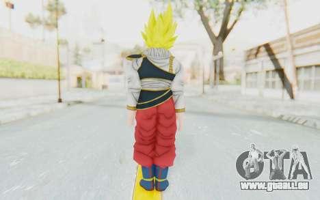 Dragon Ball Xenoverse Goku Yardrat Clothes SSJ pour GTA San Andreas troisième écran