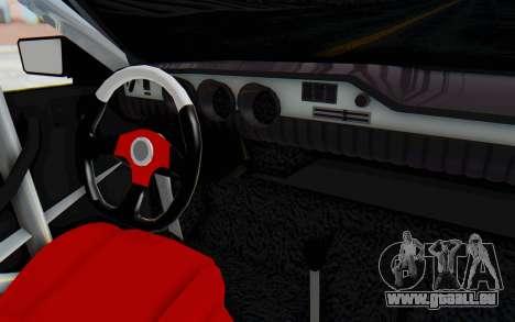 Dacia 1300 4x4 für GTA San Andreas Innenansicht