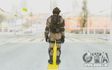 Federation Elite Shotgun Desert für GTA San Andreas dritten Screenshot