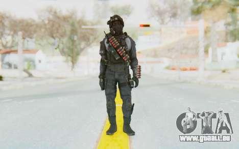 Federation Elite Shotgun Original pour GTA San Andreas deuxième écran