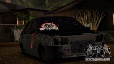 2109 Clochard pour GTA San Andreas laissé vue