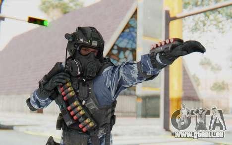 Federation Elite Shotgun Urban-Navy pour GTA San Andreas