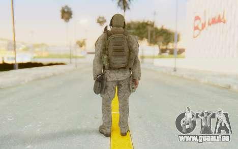 CoD MW2 Ghost Model v1 pour GTA San Andreas troisième écran