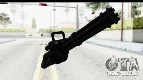 GTA 5 Coil Minigun v2 pour GTA San Andreas deuxième écran