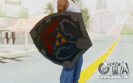Hylian Shield HD from The Legend of Zelda pour GTA San Andreas troisième écran