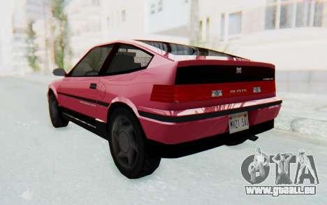 Dinka Blista Compact 1990 für GTA San Andreas linke Ansicht