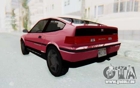 Dinka Blista Compact 1990 pour GTA San Andreas laissé vue