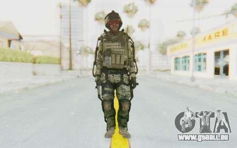 CoD AW US Marine Assault v3 Head C pour GTA San Andreas deuxième écran