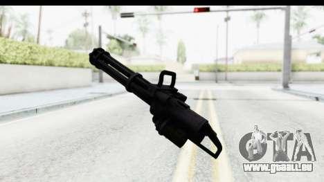 GTA 5 Coil Minigun v2 pour GTA San Andreas troisième écran
