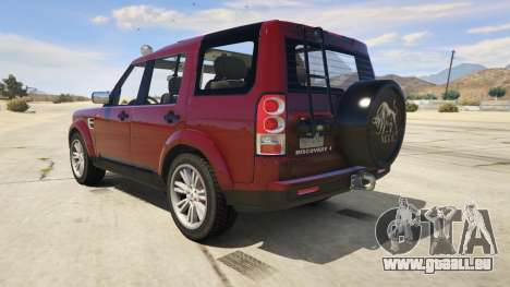 Land Rover Discovery 4 pour GTA 5