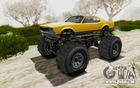 Declasse Sabre Turbo XL pour GTA San Andreas