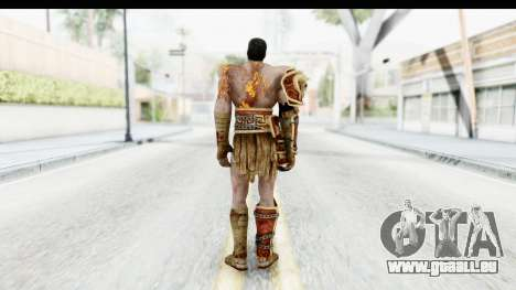 God of War 3 - Deimos für GTA San Andreas dritten Screenshot