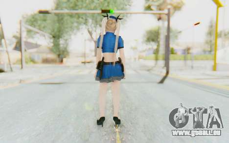 DoA 5: LR - Marie Rose Police v2 pour GTA San Andreas troisième écran